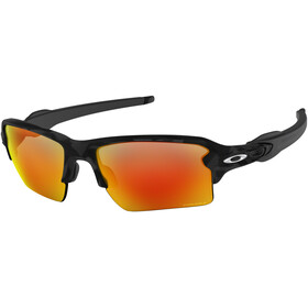 Oakley Flak 2.0 XL Cykelglasögon orange/svart